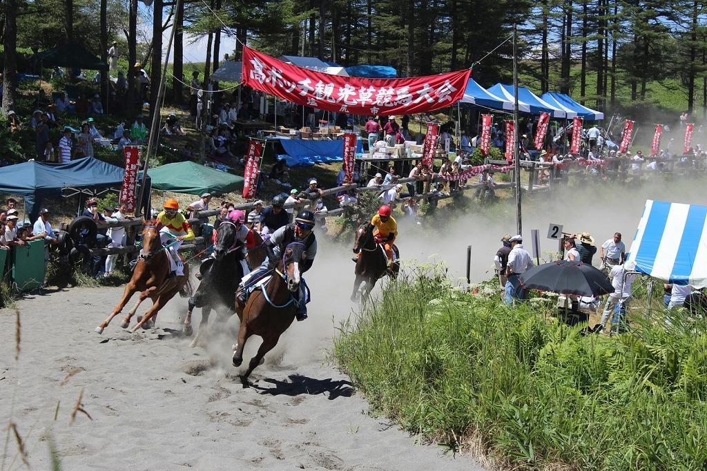 第59回高ボッチ草競馬レース画像