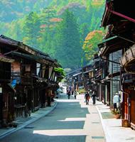 奈良井宿と平沢の町並み散策のイメージ